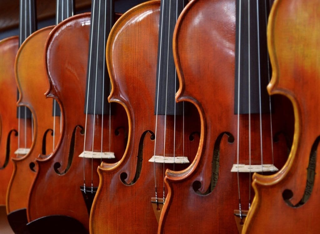 Violin Viola Cello Sizing Guide