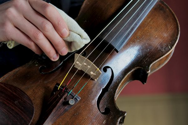 Violin Cleaning