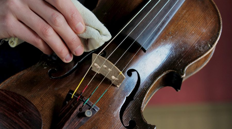 Looking after your violin or cello