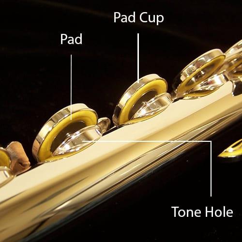 Flute Pads & Cups - Jupiter JFL511E