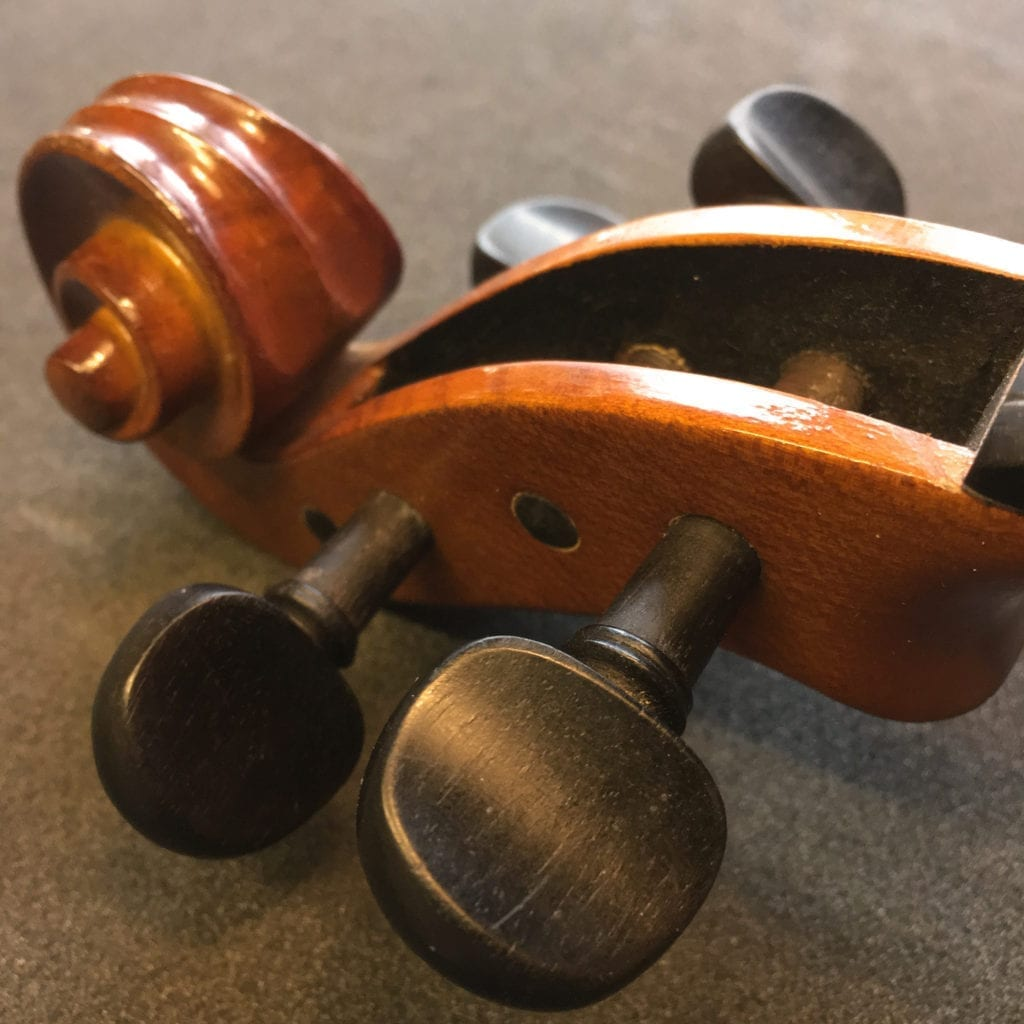 Correctly Fitted Violin Pegs