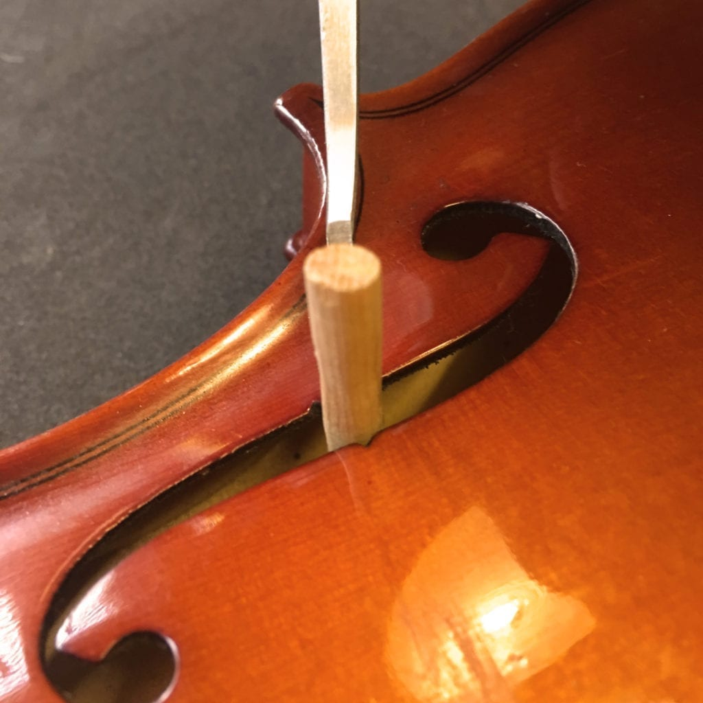 Inserting Violin Soundpost