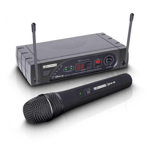 LD Systems ECO 16 Wireless – Dynamic Handheld Microphone