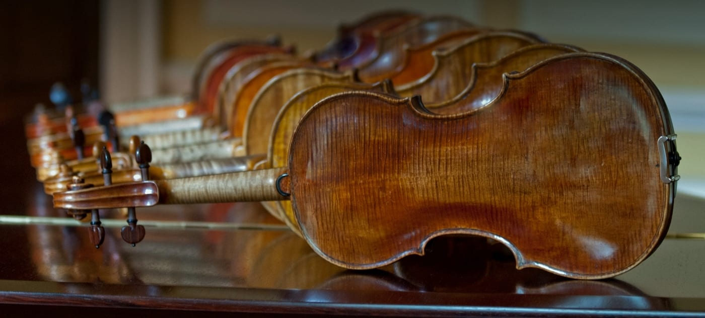 The history of the violin