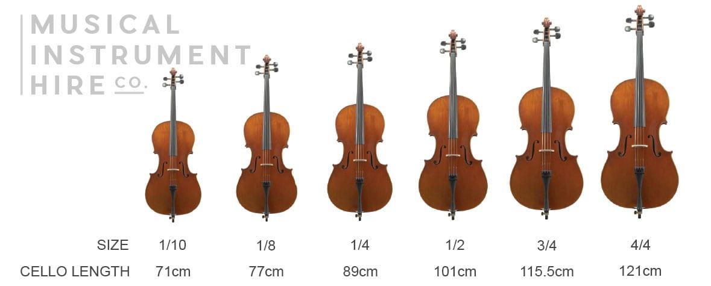 Cello Height & Length