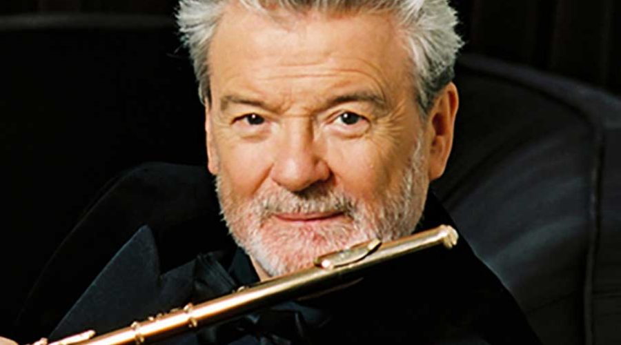 What makes a flute player like James Galway famous?