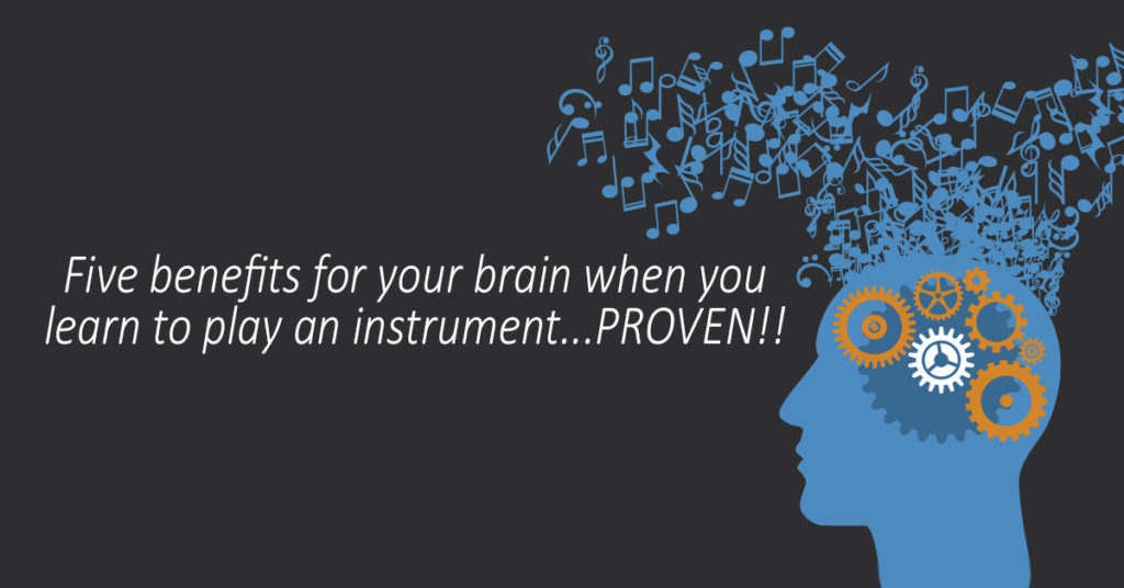 Five reasons for children to learn an instrument