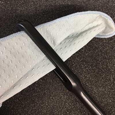 Flute Care - Pass cloth through the eye