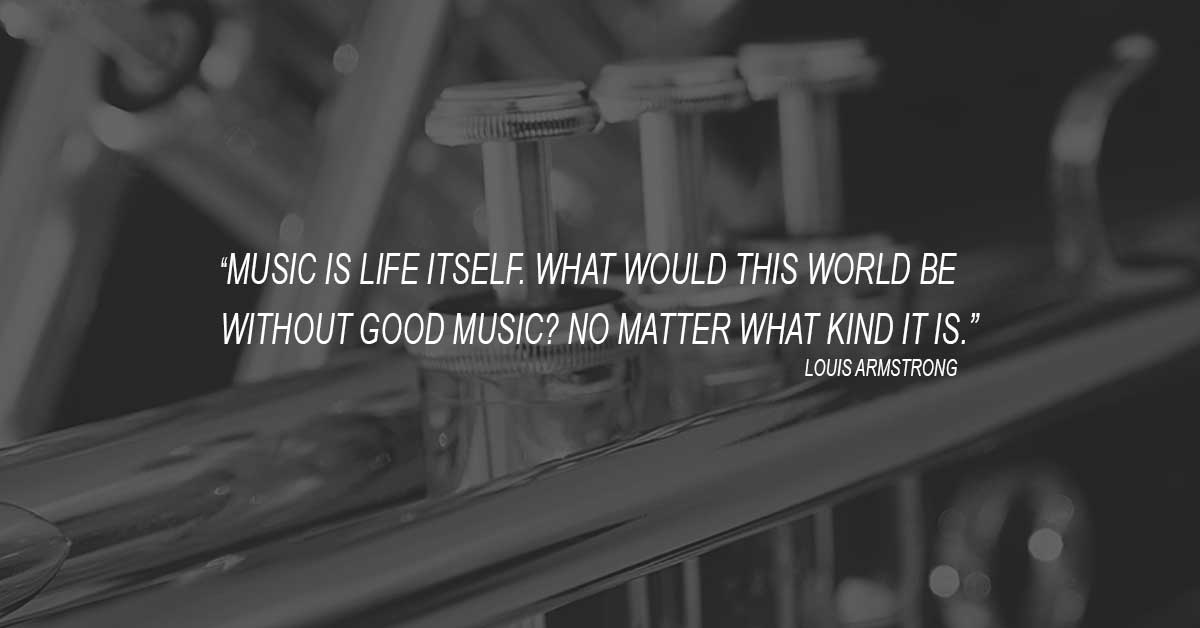 Louis Daniel Armstrong Quote