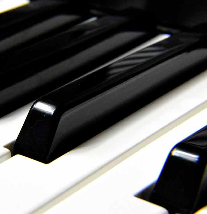 Digital Piano Keyboard Glossary