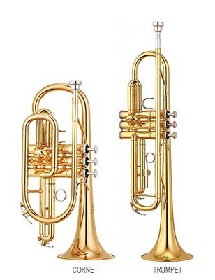 Trumpet vs Cornet