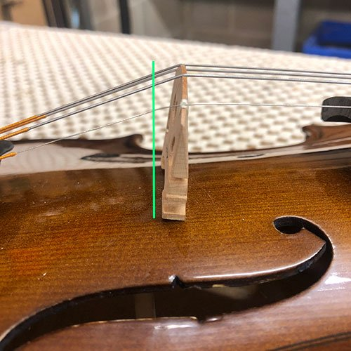 Violin Tuning - Leaning Bridge
