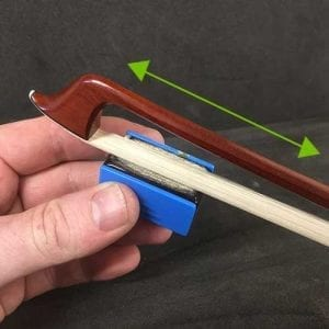 How to rosin your violin bow - 2