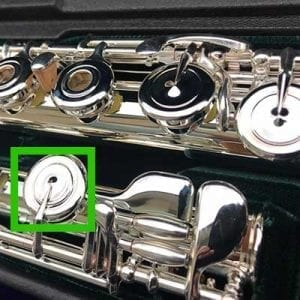 Flute Pointed Keywork