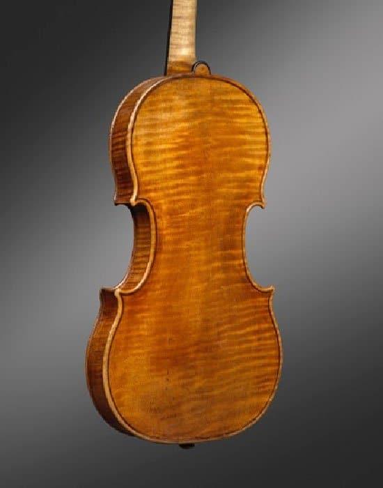 Antonio Stradivari Violin - Back
