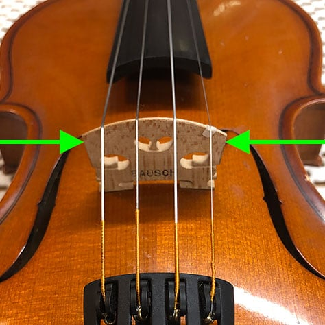 Violin Bridge Position